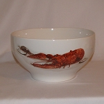 Lobster / Crawfish Footed Serving Bowl