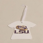 LSU T-Shirt Ornament
