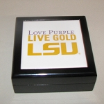 LSU Keepsake Box