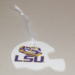 LSU Football Helmet Ornament