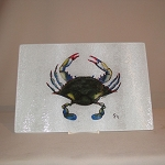 Blue Point Crab Cutting Board