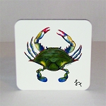 Blue Point Crab Coaster