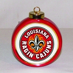 Louisana Ragin' Cajuns Ornament