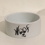 WOOF Dog Bowl