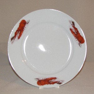 Lobster / Crawfish Plate, 8 3/8""