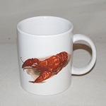 Lobster / Crawfish C-Handle Mug