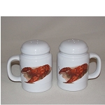 Lobster / Crawfish Salt & Pepper Shakers (range style)