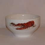 Lobster / Crawfish Footed Bowl, 7