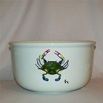 Blue Point Crab Serving Bowl