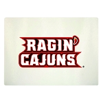 Louisiana Ragin' Cajuns Glass Cutting Board, 15