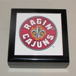 Louisiana Ragin' Cajuns Keepsake Box