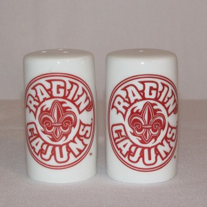 Ragin' Cajuns Salt & Pepper Shakers